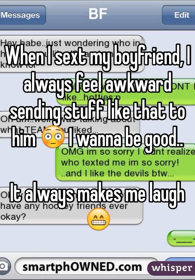 How can i sext my boyfriend