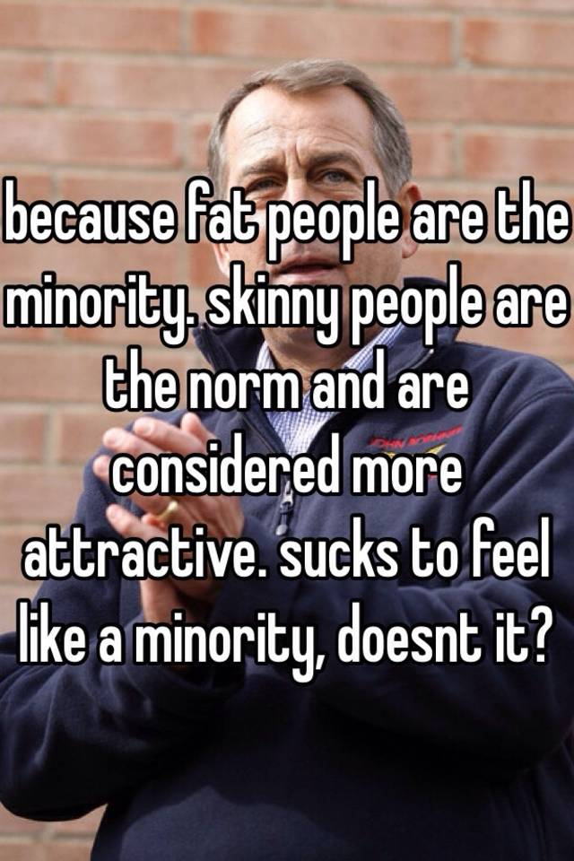 Why are skinny people more attractive