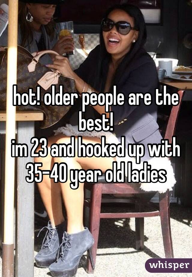 hot old people