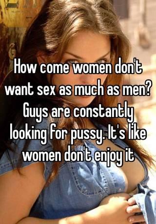 Reasons women dont want sex