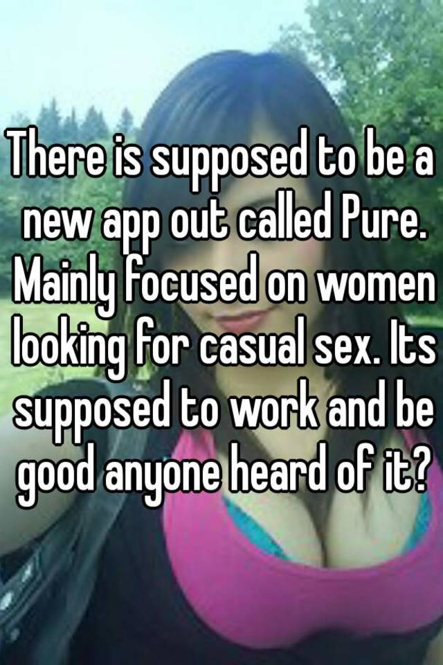 is there an app for sex