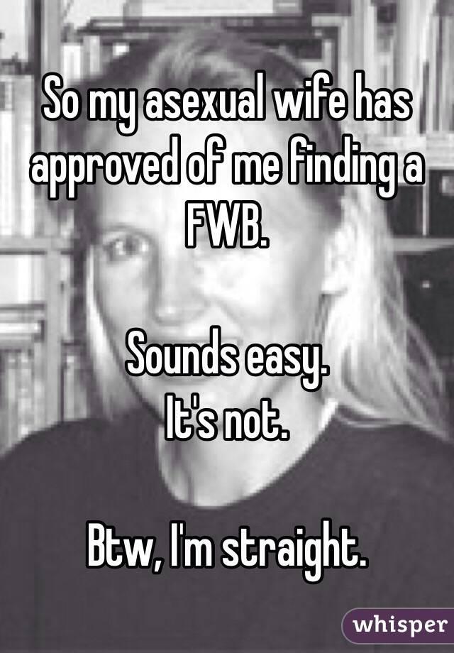 Finding a fwb