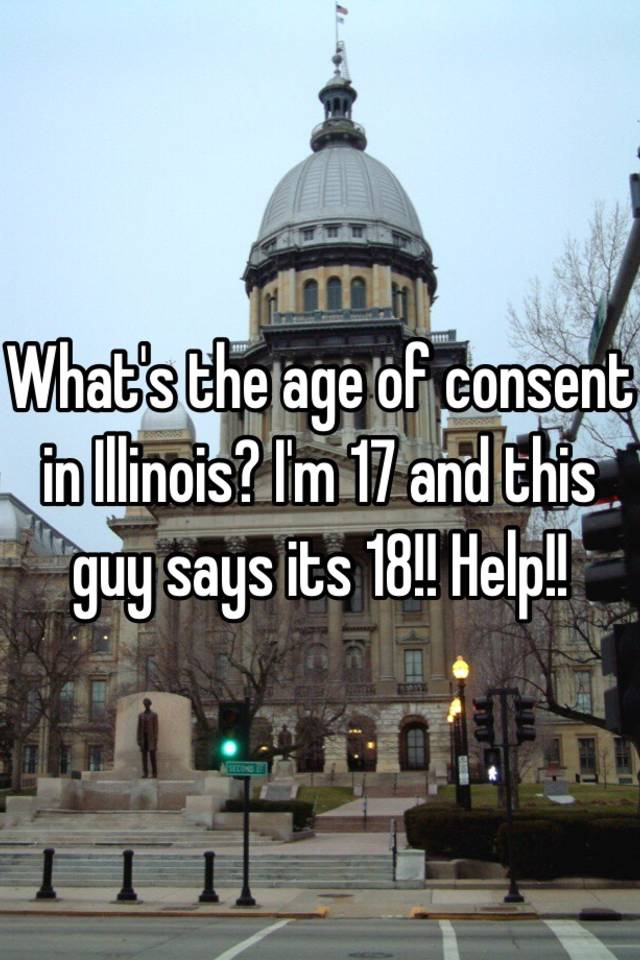 Age Limit For Dating In Illinois
