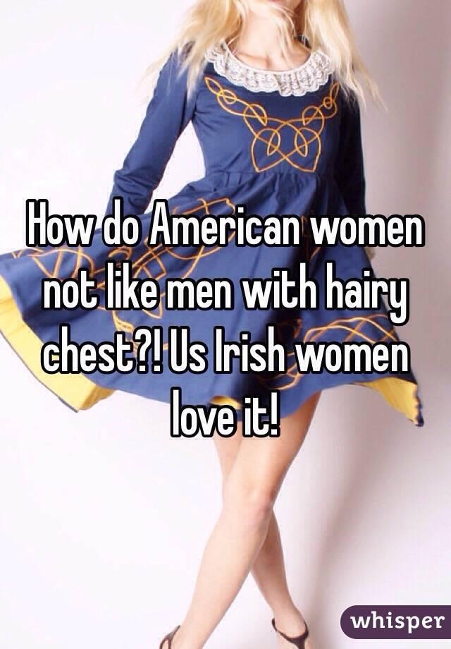 Do irish men like american women