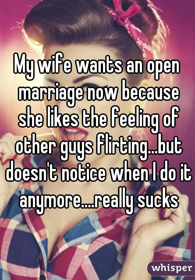 Why do married guys flirt
