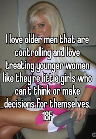 young women who love older men