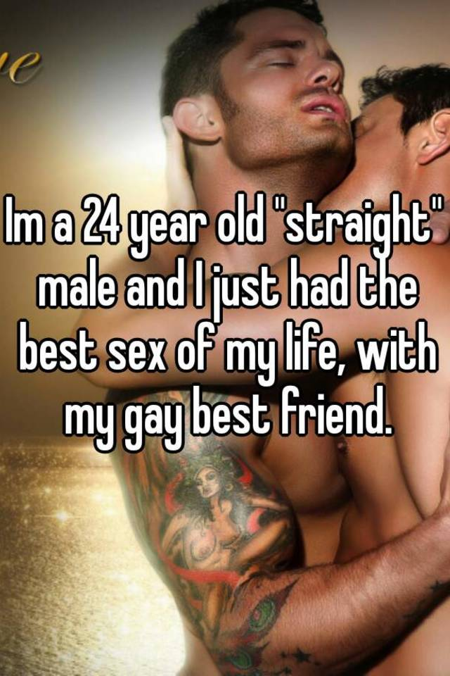 Gay sex with straight best friend