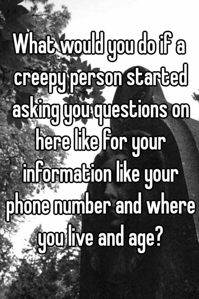 what would you do questions