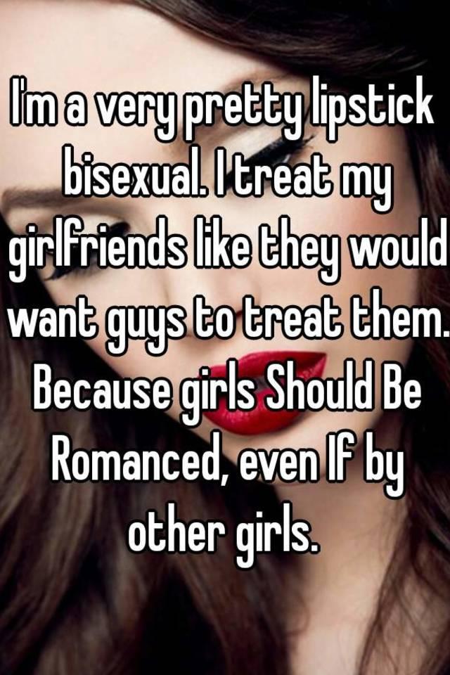 Lipstick bisexual