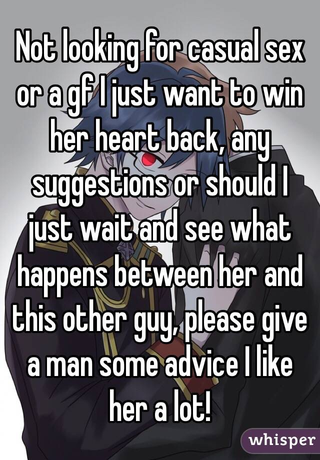 how to win her heart from another guy