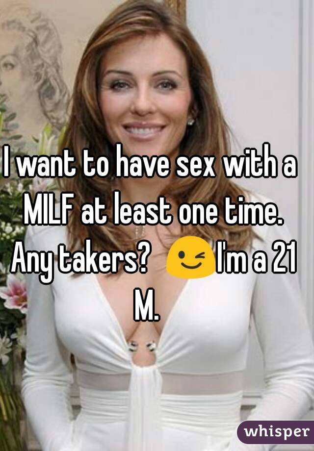 Sex A With Milf To Have I Want