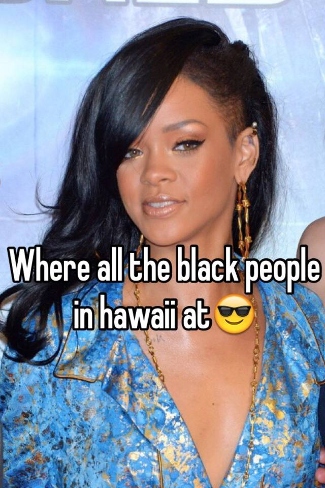 Black people in hawaii