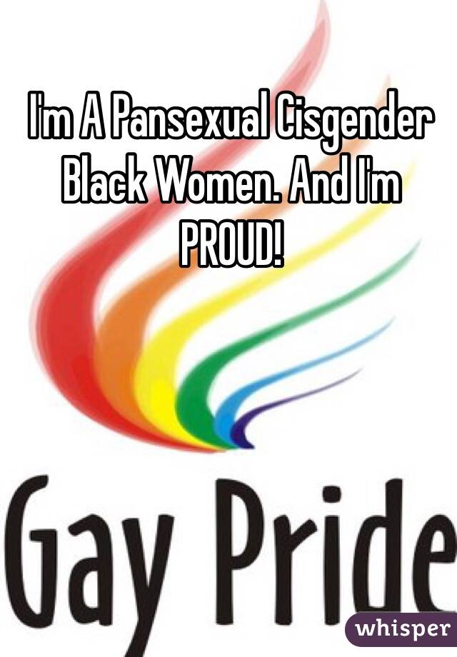 Cisgender pansexual