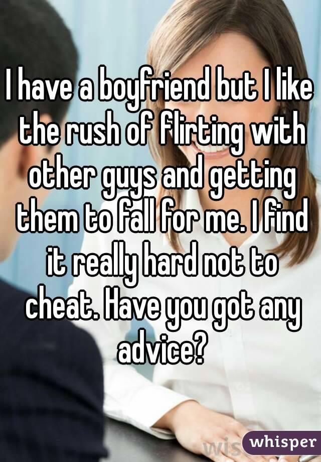 have you got a boyfriend