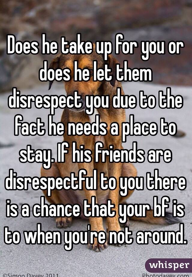 What to do when your boyfriend disrespects you