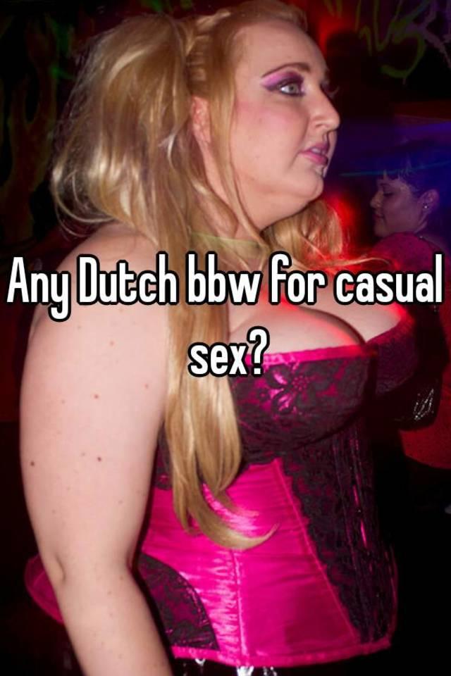 Bbw casual sex
