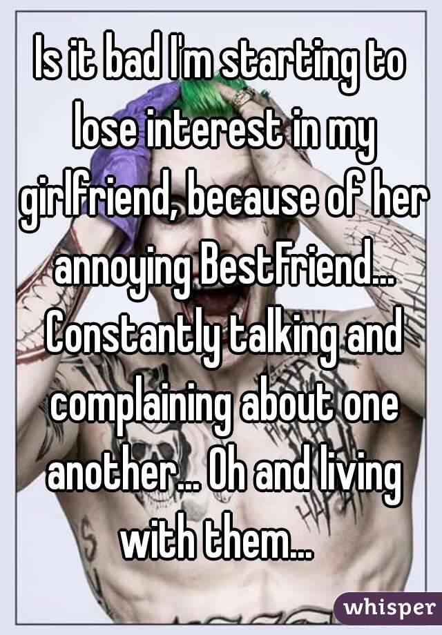 Is my girlfriend losing interest