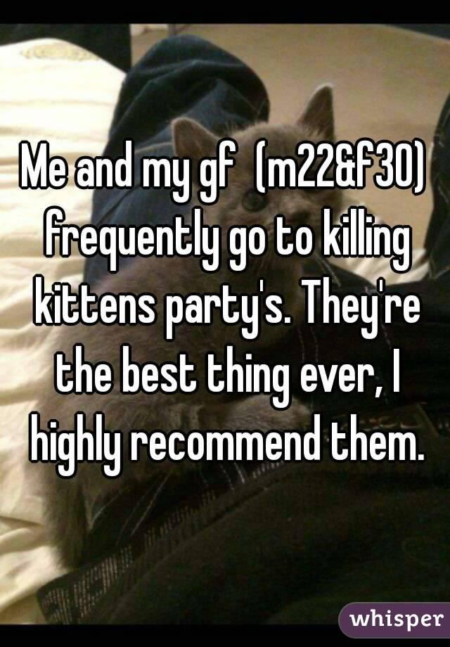 killing kittens party photos