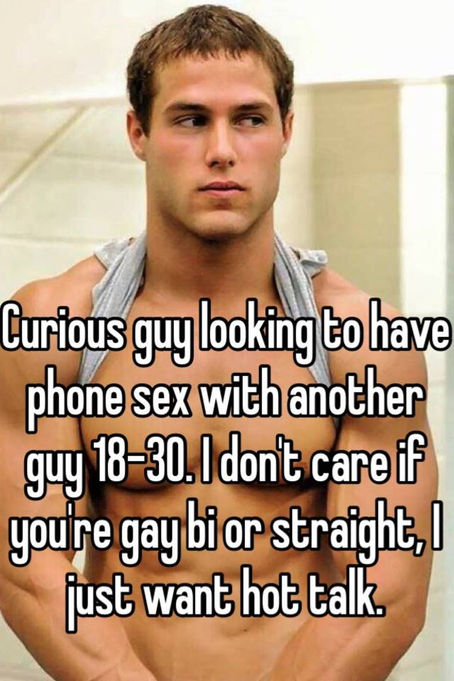 Straight men looking for sex