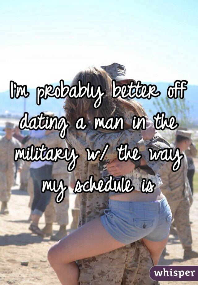 dating a military man