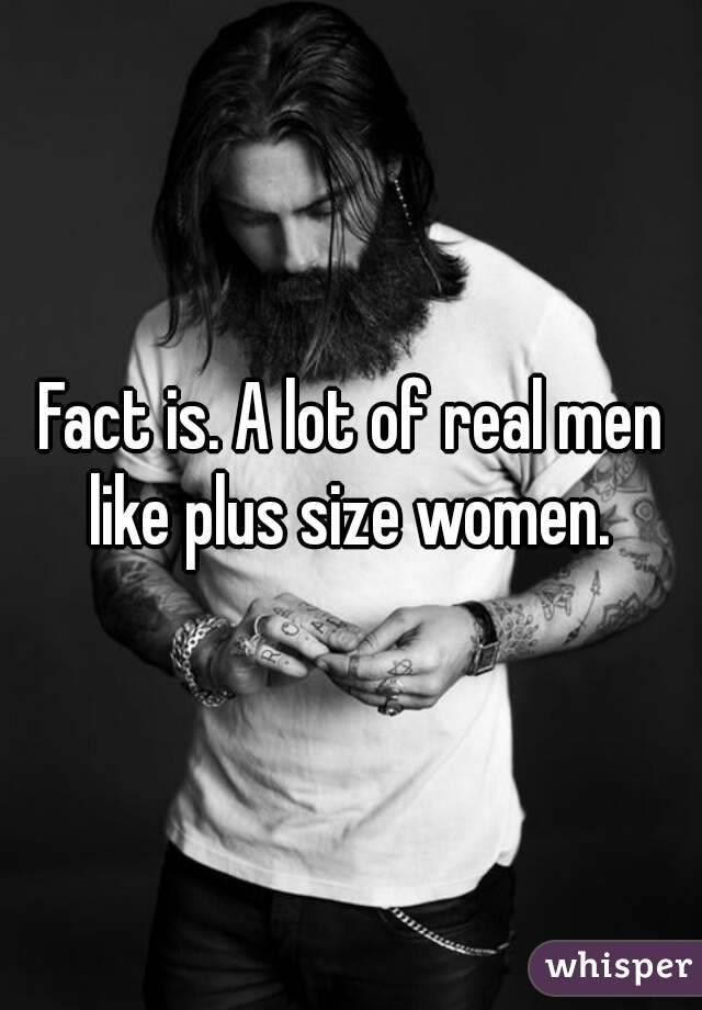What size women do men like
