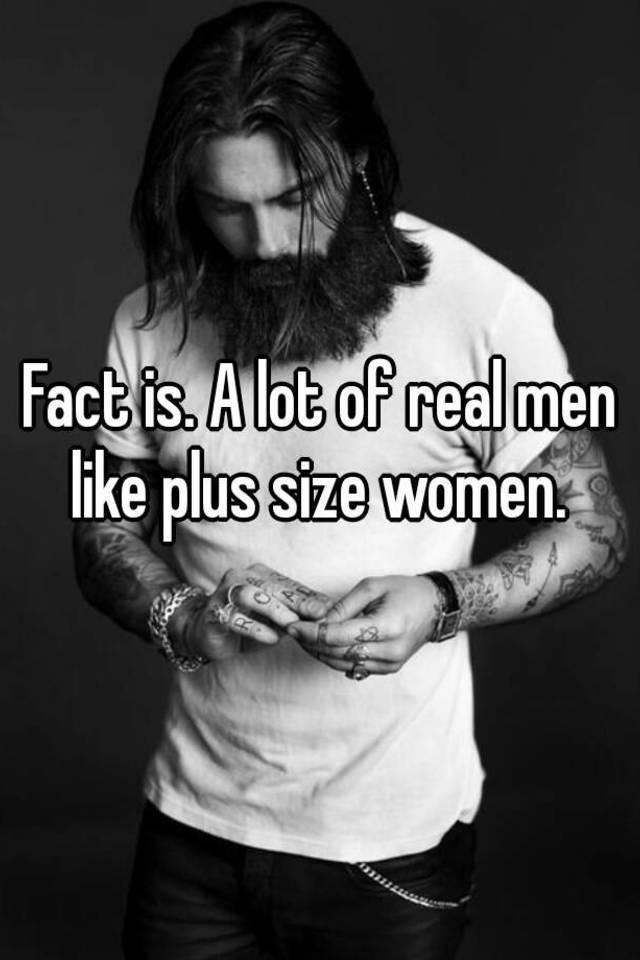 Men who like plus size women