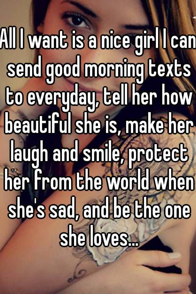 Text To Send A Girl To Make Her Smile