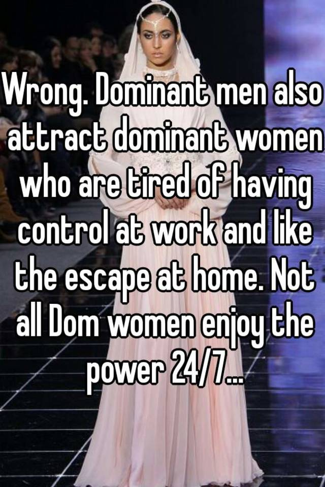 of men and control Domination