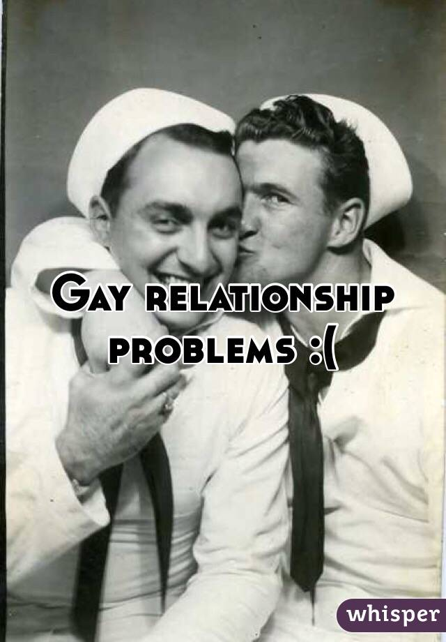 Gay relationship issues