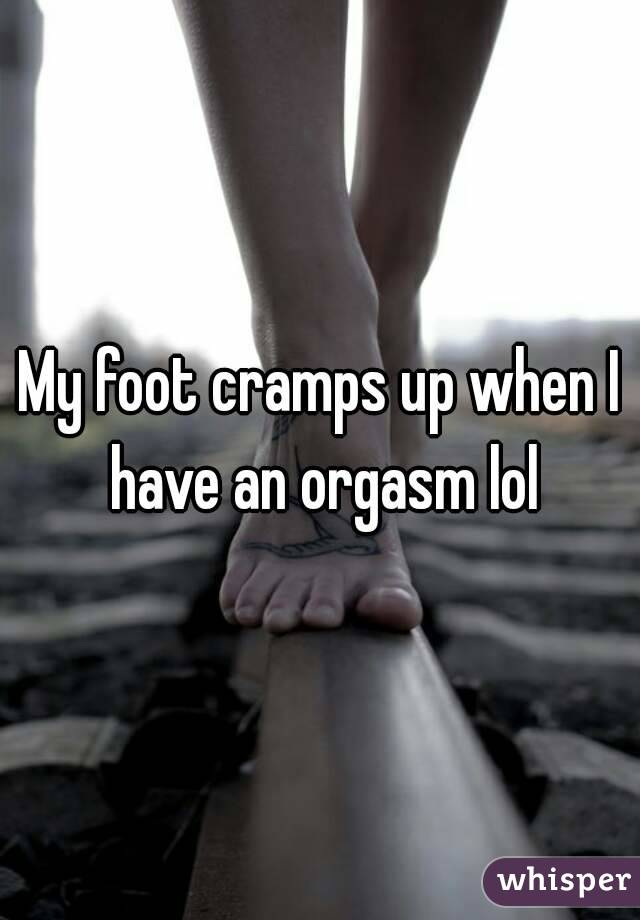 Opinion Cramps after an orgasm congratulate