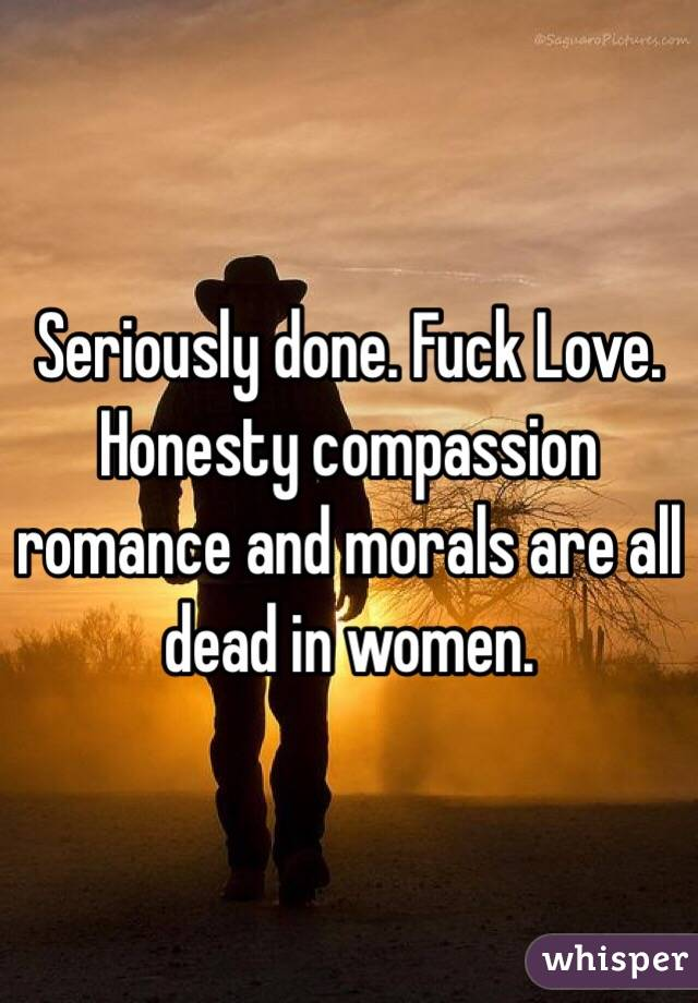 Fuck all women