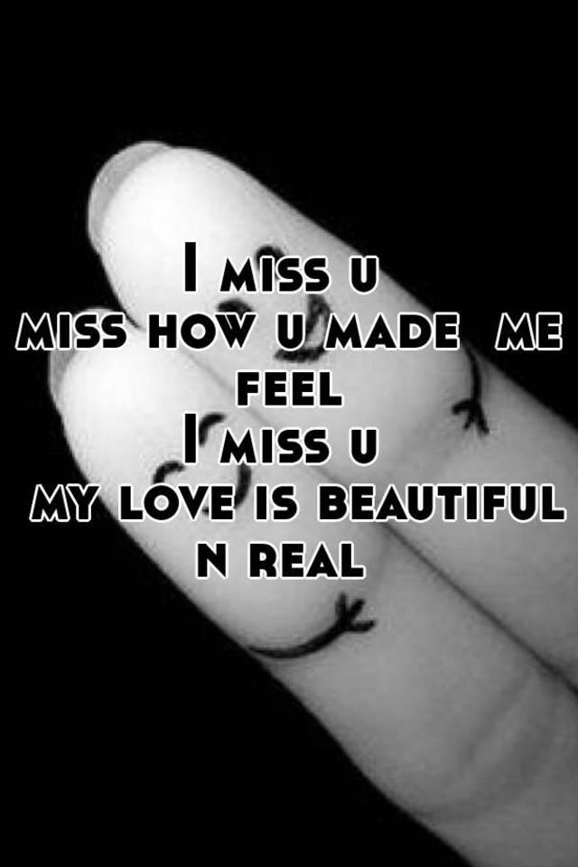love n miss u