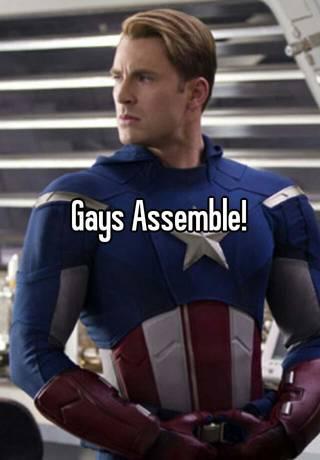 Resultado de imagem para gays assemble