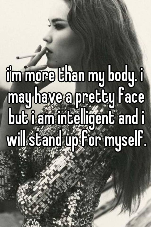 More Than A Pretty Face