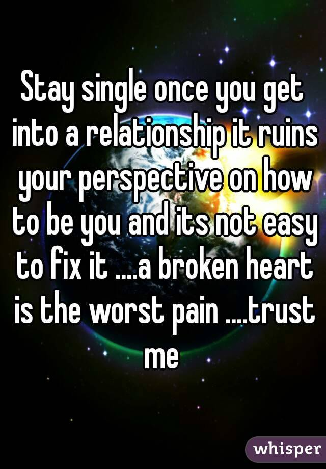 how to fix a ruined relationship