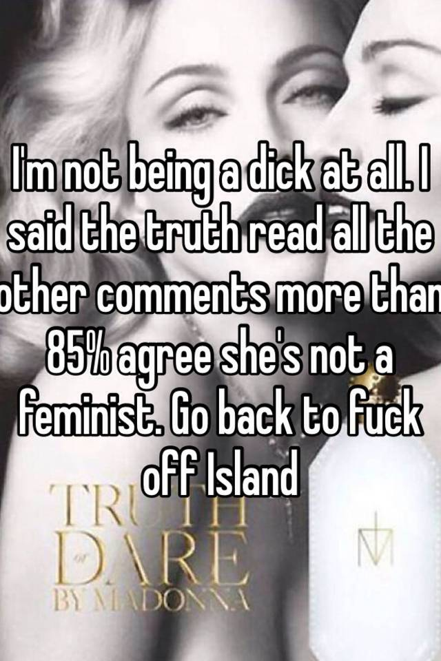 Fuck island she