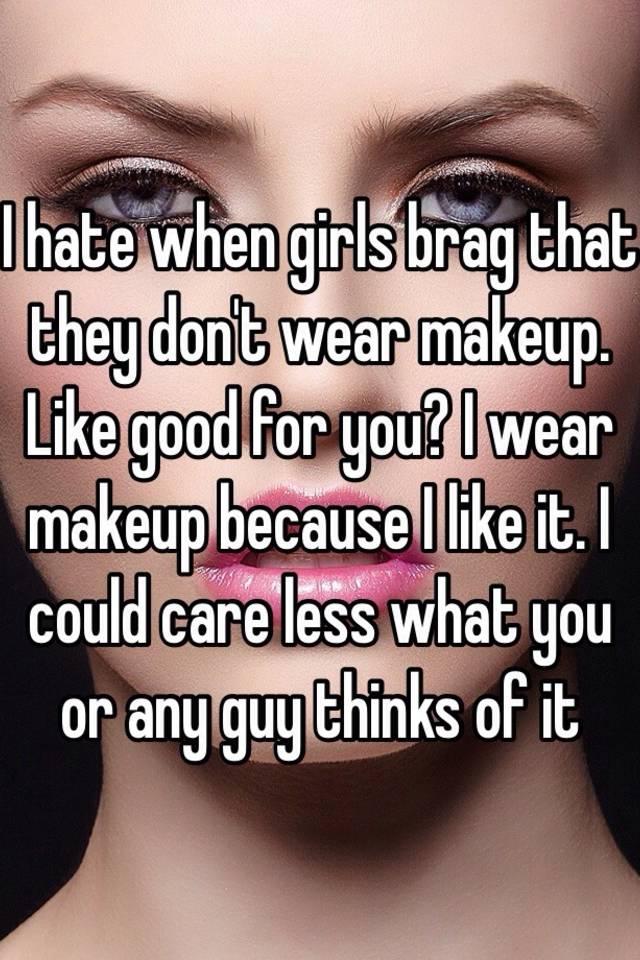girls that dont wear makeup