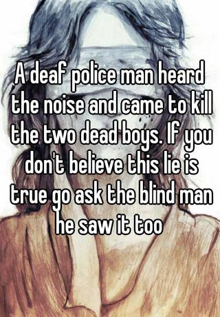 A Deaf Police Man Heard The Noise And Came To Kill The Two
