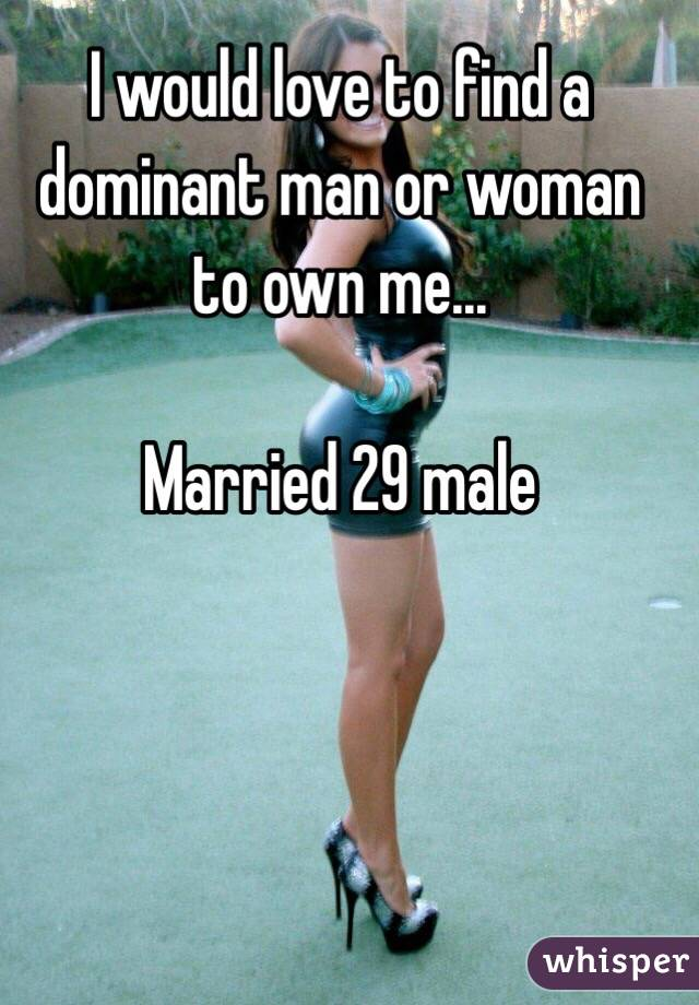 Finding a dominant male