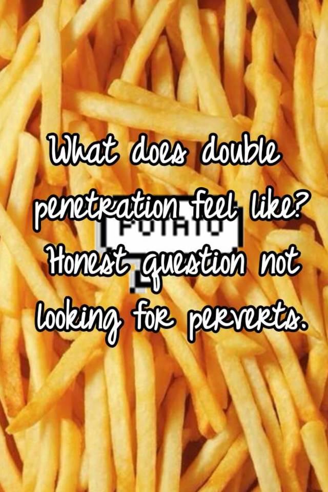 Double penetration question