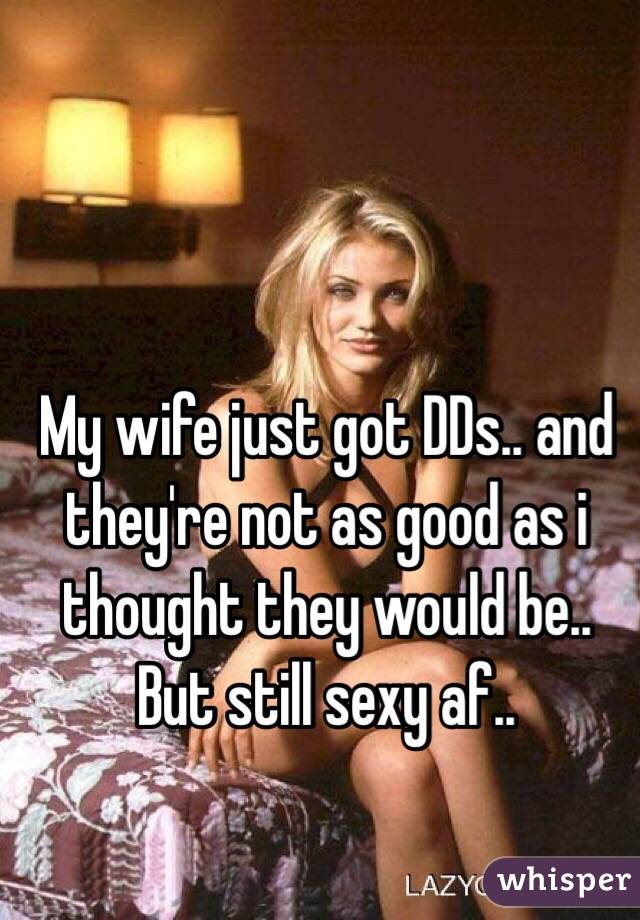 my wife is not sexy