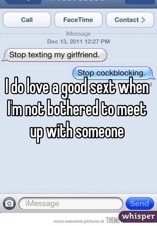 A good sext