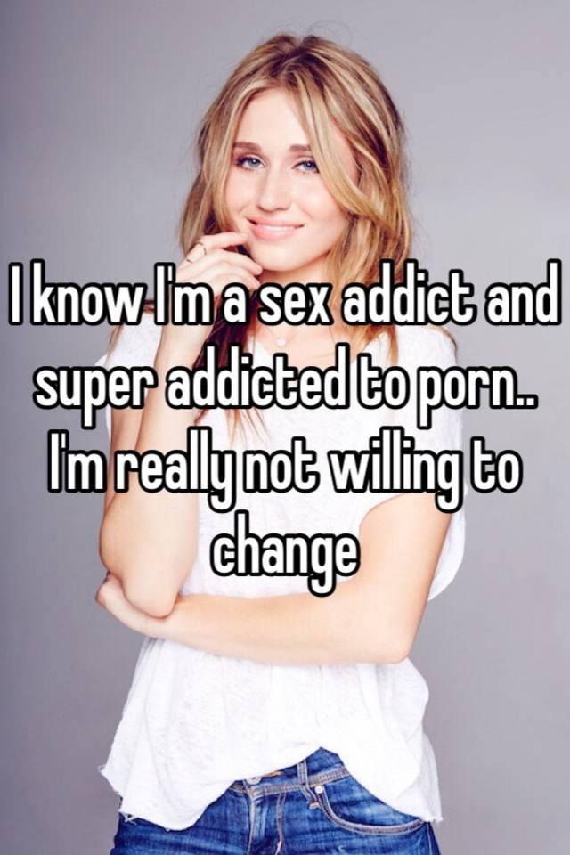Confession of a sex addict