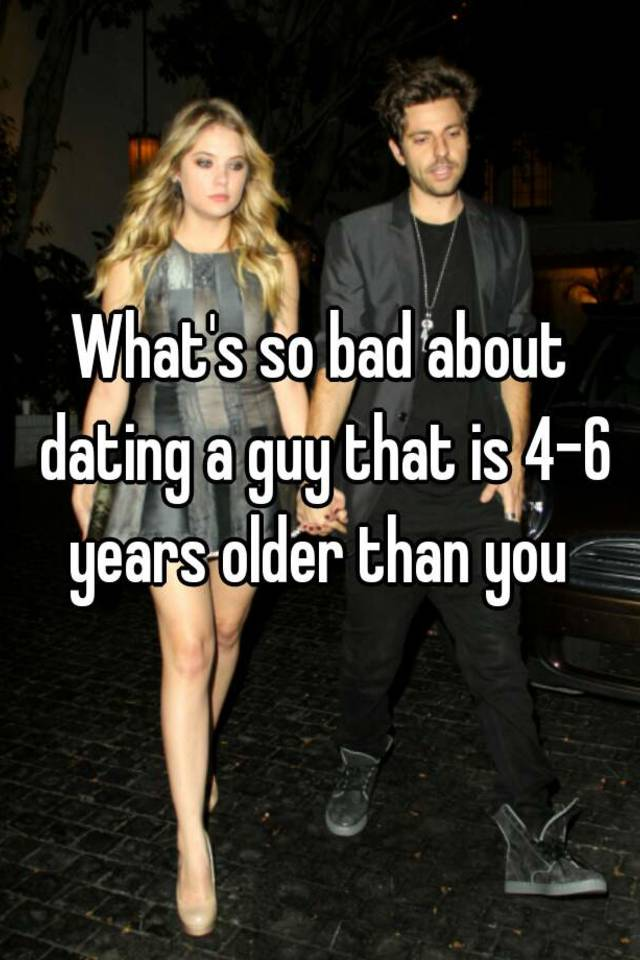 dating 4 years older woman