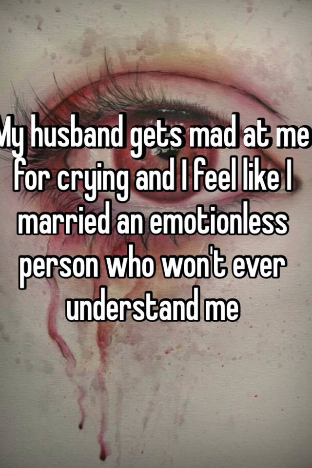 emotionless husband marriage