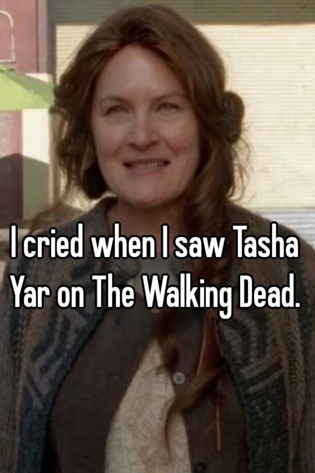 I Cried When I Saw Tasha Yar On The Walking Dead