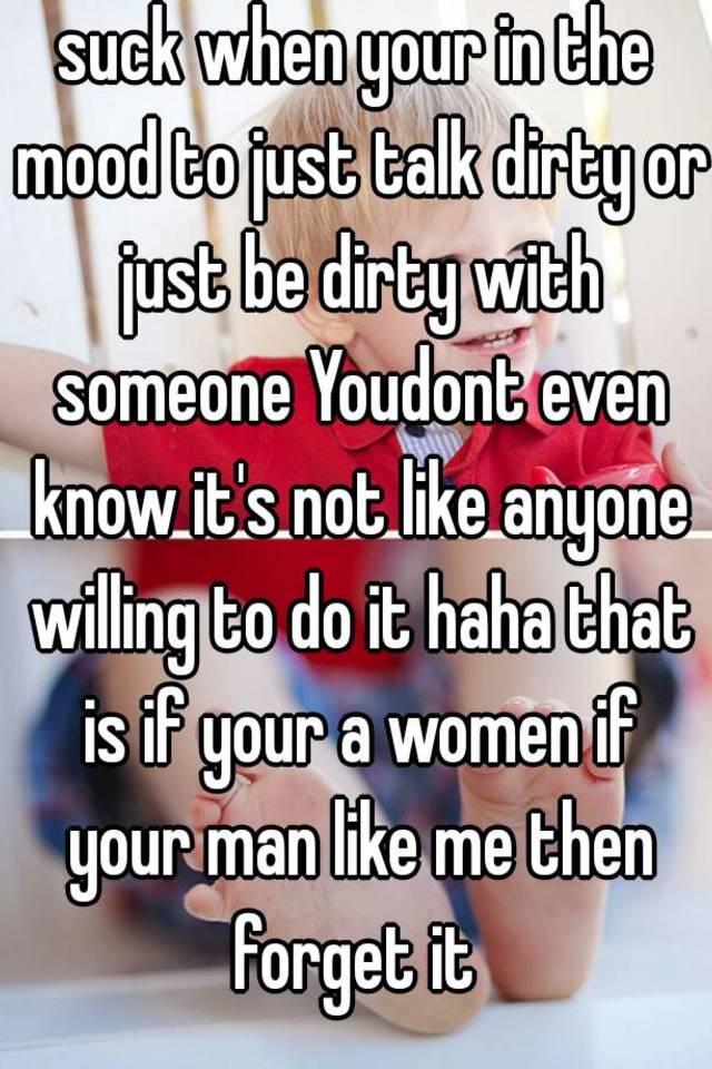Women who like to talk dirty