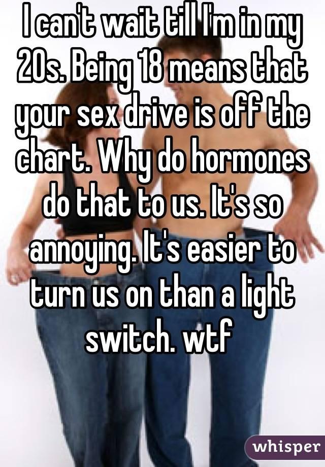 Turn off sex drive