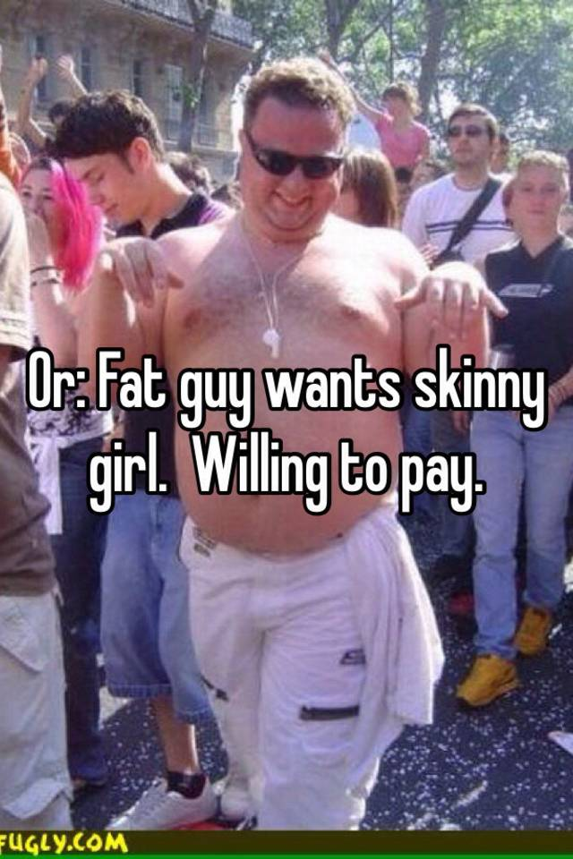 Chubby Guy And Skinny Girl