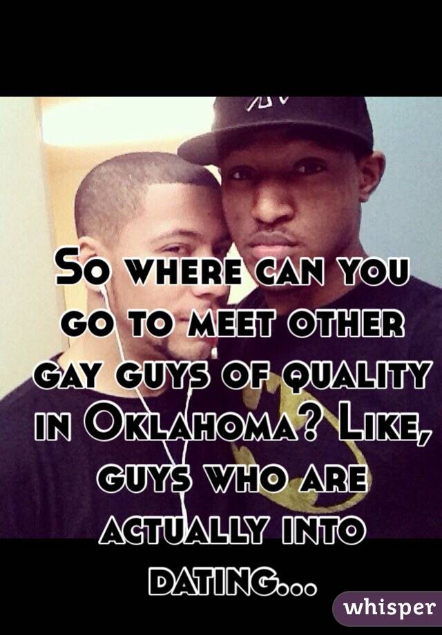 where to meet other gay guys